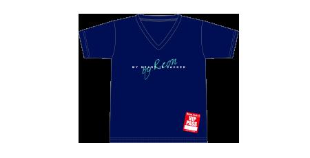 Tシャツ/ネイビー(S/M/L)